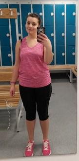 Gym selfie 11th March